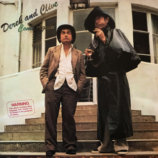Peter Cook & Dudley Moore - Derek & Clive: Come Again (LP) (VG-/G++)